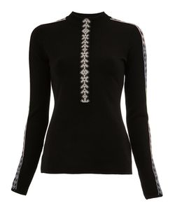 Peter Pilotto | Geometric Trim Knitted Top Xs Polyamide/Spandex/Elastane/Viscose/Wool