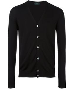 Zanone | Buttoned Cardigan 48 Virgin Wool