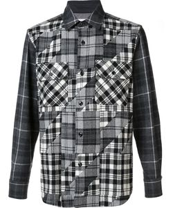 GANRYU COMME DES GARCONS | Checked Shirt Large Nylon/Wool