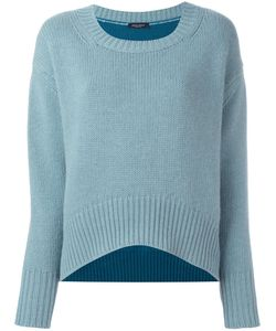 Roberto Collina | Colour Block Long Sleeve Sweater Xs