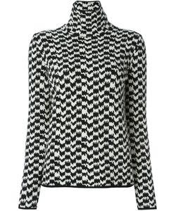 Moncler Grenoble | Pied De Poule Sweater Large Cashmere/Wool