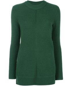 Michael Michael Kors | Ribbed Pullover Xs Cashmere/Merino