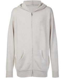 The Elder Statesman | Cashmere Zipped Hoodie Small Cashmere