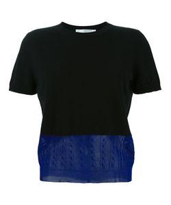 Victoria Beckham | Panelled Knit Top 3 Silk/Cotton/Cashmere