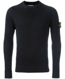 Stone Island | Ribbed Knit Jumper Small Wool