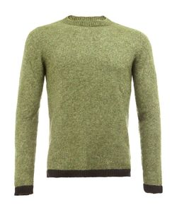 The Elder Statesman | Contrast Trim Knit Sweater Small