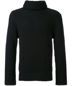 CHRISTIAN DADA | Turtleneck Ribbed Sweater 46 Wool
