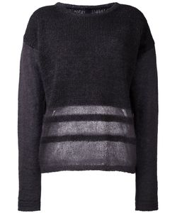 Ilaria Nistri | Stripe Detailing Sweater Medium Silk/Polyamide/Mohair/Virgin Wool