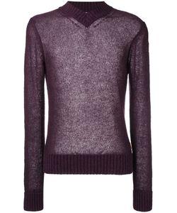 AL DUCA D'AOSTA   1902 V-Neck Sweater Xl Acrylic/Polyamide/Mohair/Wool