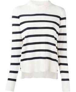 Moncler | Striped Long Sleeve Jumper Large Virgin Wool