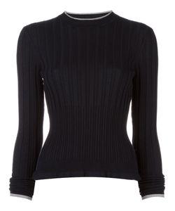 Wunderkind | Ribbed Detail Jumper Medium Silk/Polyester/Viscose/Virgin Wool
