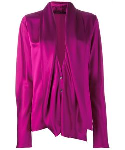 Haider Ackermann | Draped Longsleeved Blouse 38 Silk