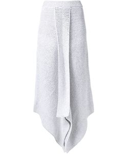 Stella Mccartney | Asymmetric Knit Skirt 46 Polyamide/Viscose/Wool