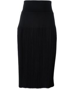 Givenchy | Knee Length Pleated Skirt Small Viscose