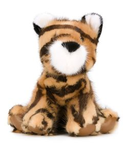 Liska | Mink Fur Tiger Plush