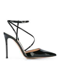 Gianvito Rossi | Carlyle Pumps 39.5 Leather/Patent Leather
