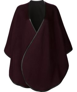 Sofia Cashmere | Cape Coat Leather/Cashmere