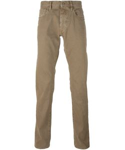 Incotex | Sky Slim Fit Trousers 35 Cotton/Spandex/Elastane