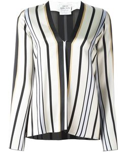 Forte Forte | Striped V-Neck Blouse I Viscose