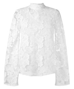 Perseverance London | Paisley Embroidery Top 6 Polyester