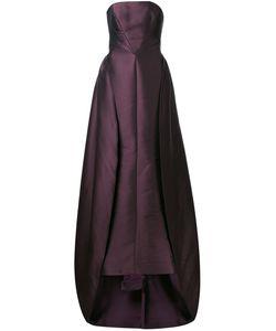 Elizabeth Kennedy | Overskirt Detail Strapless Gown 6 Polyester