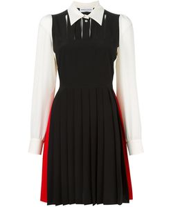Sonia Rykiel | Colour Block Shirt Dress 40 Silk