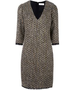 Sonia Rykiel | Bouclé Fitted Dress 42 Polyamide/Polyester/Cupro/Virgin Wool