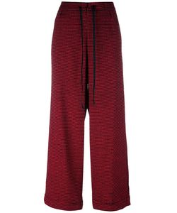 Ultràchic | Wide Leg Trousers 42 Polyester/Spandex/Elastane/Wool