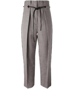 3.1 Phillip Lim | Origami Pleat Houndstooth Trousers 0