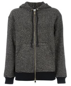 Sonia Rykiel | Hooded Cardigan Small Cotton/Lurex/Polyamide/Wool