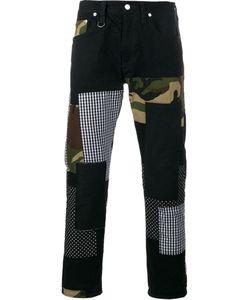 Sophnet. | Patch Repair Camouflage Jeans Large Cotton/Polyurethane