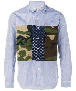 Sophnet. | Camouflage Panel Long Sleeve Shirt Large Cotton