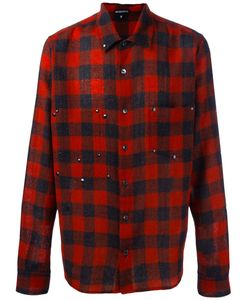 Ann Demeulemeester | Plaid Button Down Shirt Large Wool