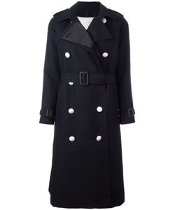 The Reracs | Double-Breasted Trench Coat 40 Silk/Cotton/Polyester/Cupro