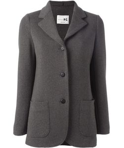 Manzoni 24 | Three Button Jacket 42 Silk/Acetate/Cashmere
