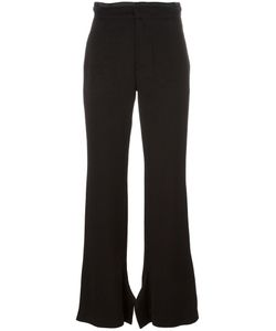 Erika Cavallini | Flared Trousers 38 Polyester/Acetate/Viscose
