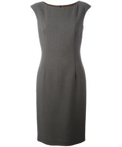 Les Copains | Boat Neck Fitted Dress 46 Polyamide/Polyester/Spandex/Elastane/Virgin
