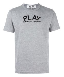 Comme des Gar ons Play | Comme Des Garçons Play Logo Print T-Shirt Mens Size Small