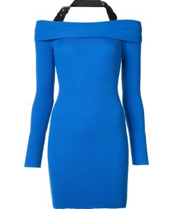 Moschino | Halterneck Knitted Dress 40 Virgin Wool