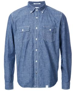 Bedwin & The Heartbreakers | Contrast Stitching Denim Shirt 2