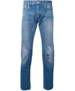 Bedwin & The Heartbreakers | Splattered Slim Fit Jeans 1