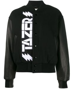 ASHLEY WILLIAMS | Tazer Bomber Small Leather/Acrylic/Nylon/Virgin Wool
