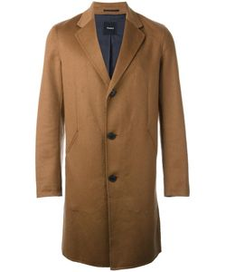 Theory   Reversible Single Breasted Coat Medium Polyester/Cashmere/Bemberg