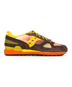Saucony   Panelled Low-Top Sneakers 9.5 Nylon/Polyester/Calf Suede/Rubber