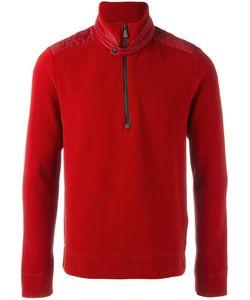 Moncler Grenoble | Army Sweatshirt Large Polyamide/Polyester/Spandex/Elastane