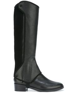 Tory Burch | Milburn Convertible Riding Boots 7 Leather