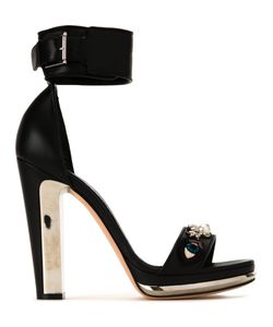 Alexander McQueen | Buckled Sandals 39 Lamb Skin