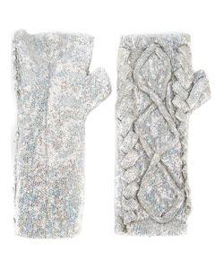 Filles A Papa | Erin Sequin Embellished Fingerless Gloves 42