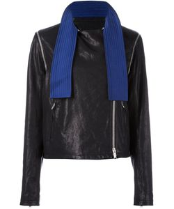 Damir Doma | Julli Jacket 36 Silk/Leather/Cupro