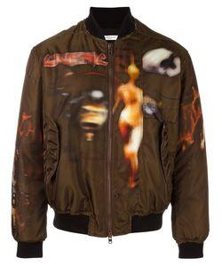 Givenchy | Freedom Print Paneled Bomber Jacket 50 Polyamide/Viscose/Polyester